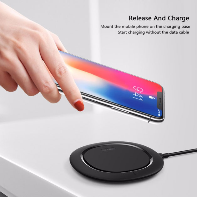 Wireless Charger รองรับ Quick , Fast Charge